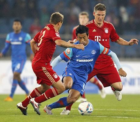 Bayern Munich vs India: One match, three winners!