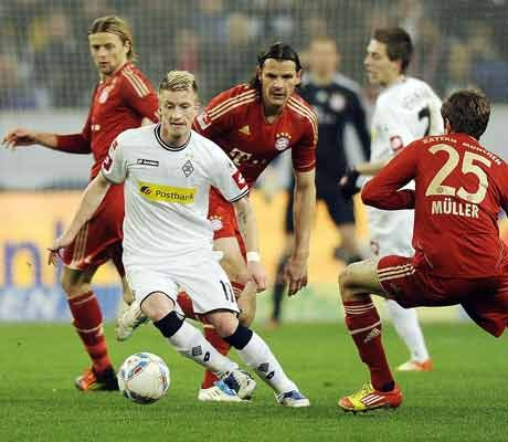 Monchengladbach shocks leaders Bayern Munich in Bundesliga