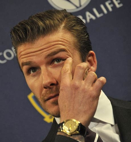 I never wanted to be famous: Beckham