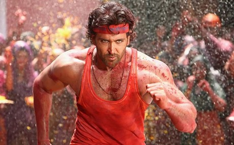 Hrithik's different coloured vests are dyed by his personal designer