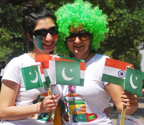 No India-Pakistan Test series before 2013