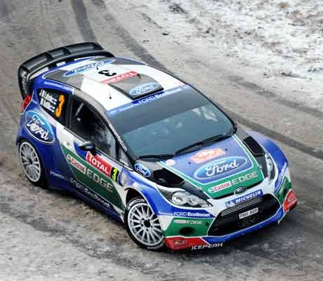 Loeb leads after Latvala joins Monte high-rollers