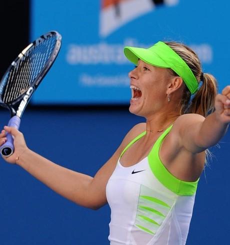 Sharapova in Australian Open final