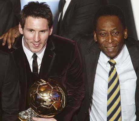 Messi not greatest yet: Pele