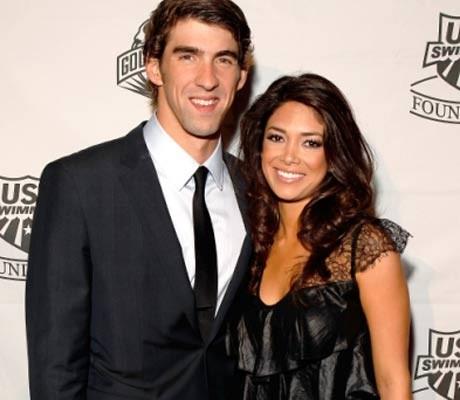 Michael Phelps 'splits with girlfriend Nicole Johnson'
