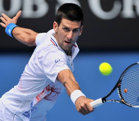 Australian Open: Djokovic routs birthday boy Mahut