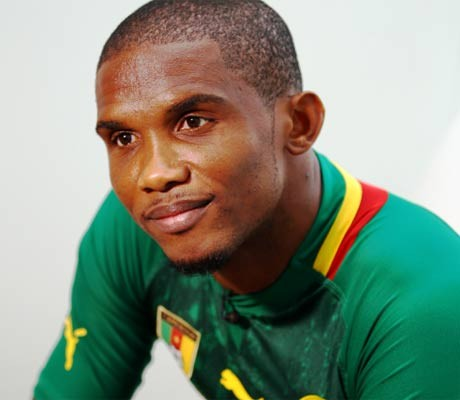 Eto'o tops list of African Cup absentees