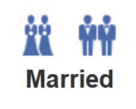 Facebook launches gay, lesbian wedding icons