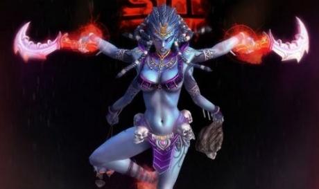 Kali as porn star