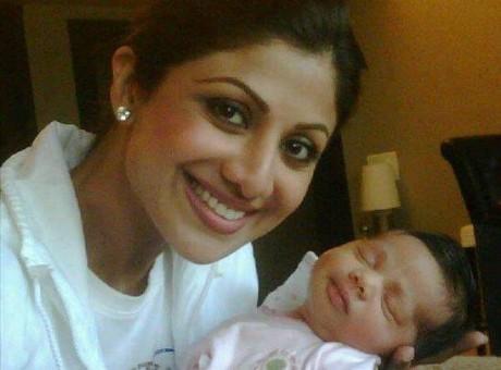 Shilpa Shetty's son