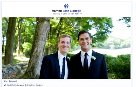 Facebook gay icons