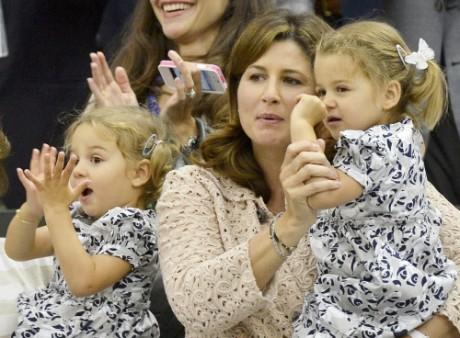 Federer's children