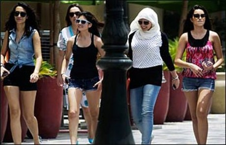 Twitter campaign against hot pants in UAE malls