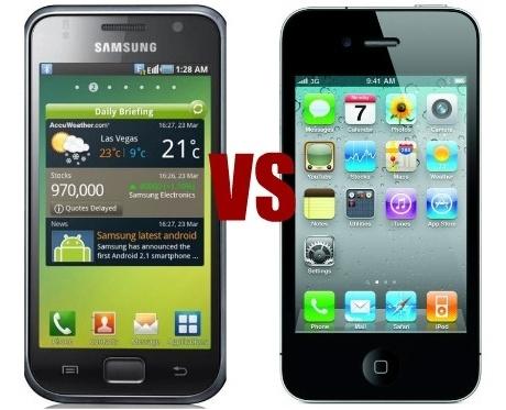 Galaxy & iPhone