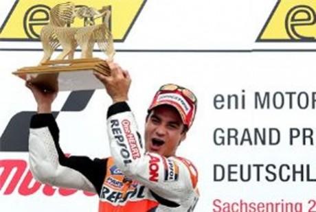 Dani Pedrosa wins German MotoGP