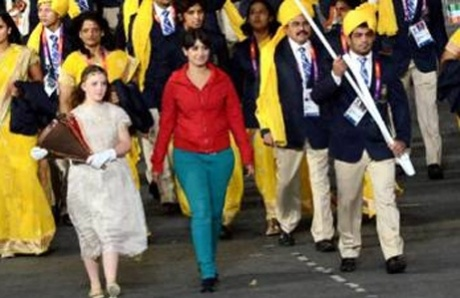 India clueless about mystery woman at march past