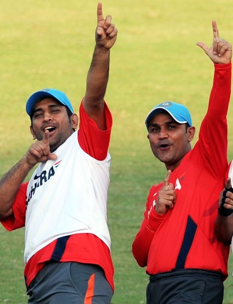 dhoni, sehwag
