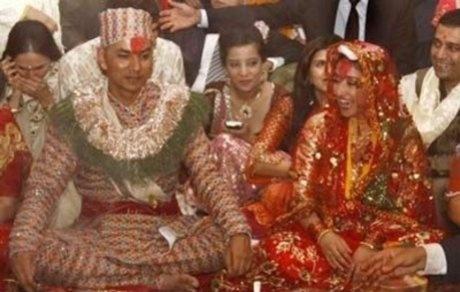 Manisha Koirala and Samrat Dalal