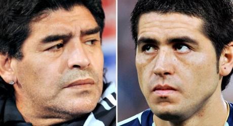 Maradona brands Riquelme traitor