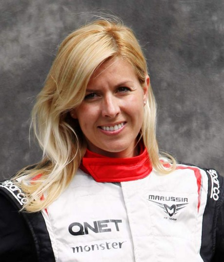 Female F1 test driver seriously injured in crash