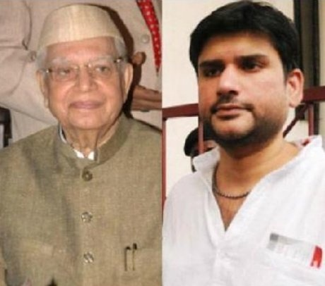 ND Tiwari and Rohit Shekhar