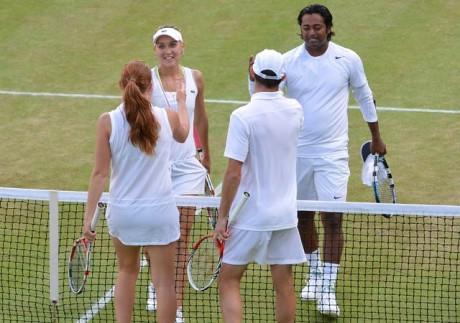 Paes-Vesnina reach Wimbledon final