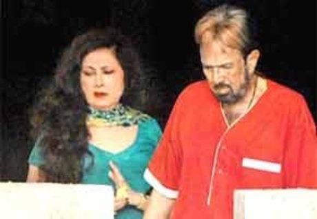 Rajesh Khanna with Anita Advani