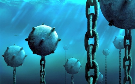 Robot can detect tiny mines under ship hulls