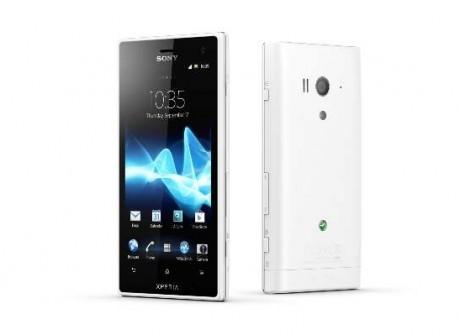 Sony debuts water-resistant Xperia smartphones