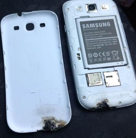 Samsung Galaxy S III explodes in Ireland