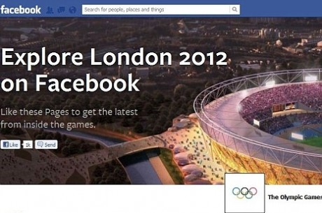 Facebook launches official London Olympics page