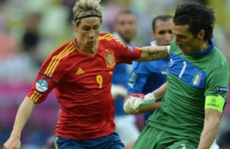 Euro: Spain held to 1-1 draw by Italy
