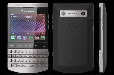 BlackBerry Porsche P-9981
