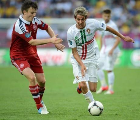 Euro 2012: Portugal beat Denmark