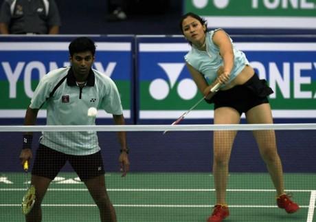 Jwala-Diju crash out of Singapore Open