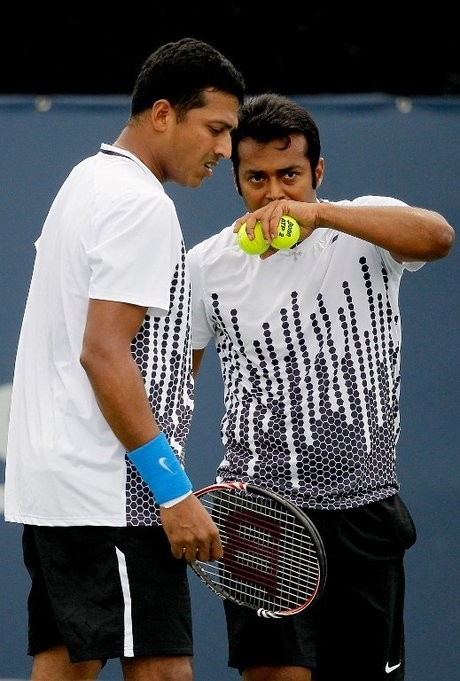 Mahesh Bhupathi and Leander Paes