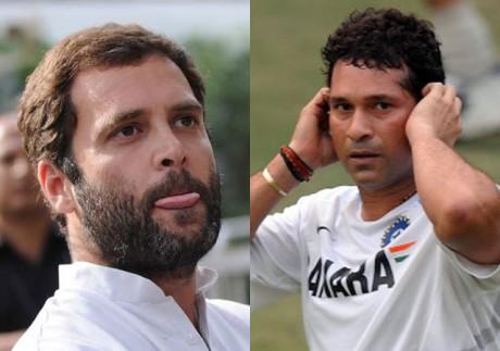 Sachin to be Rahul Gandhi's neighbour