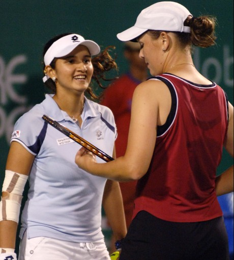 Sania-Vesnina in semifinals of Indian Wells