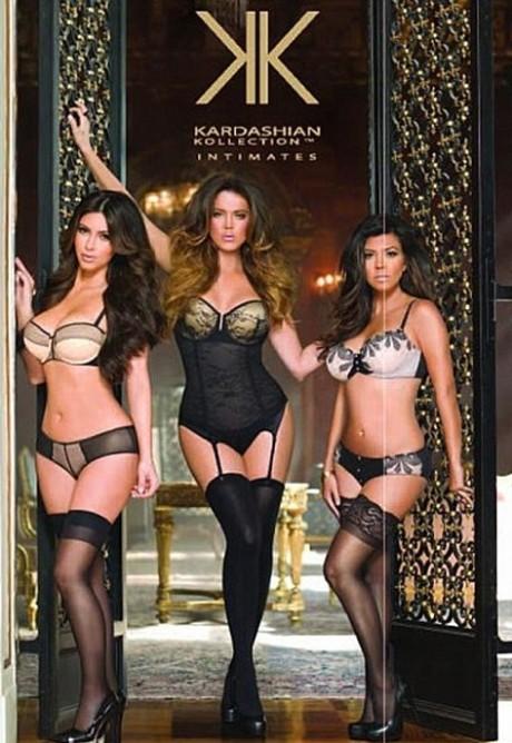 Kardashian siblings strip off