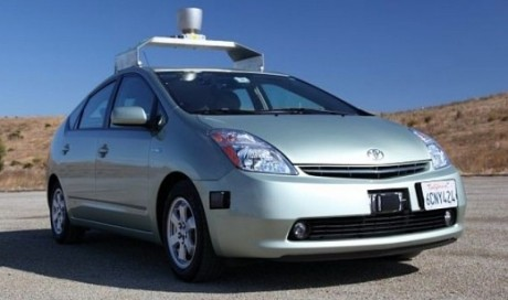 Google drives in driverless cars