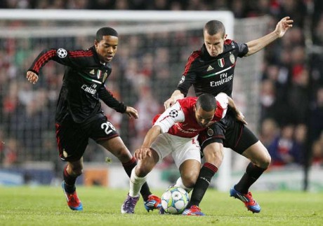 Arsenal bow out of Champions League