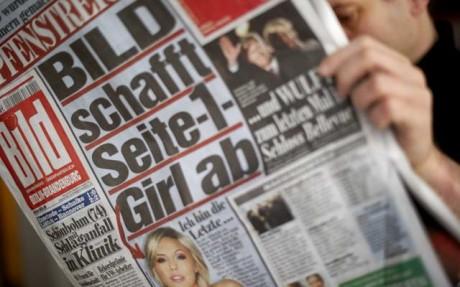 'Bild' to abolish front page 'nude women'
