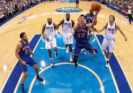 Mavericks dump Knicks as Lin struggles