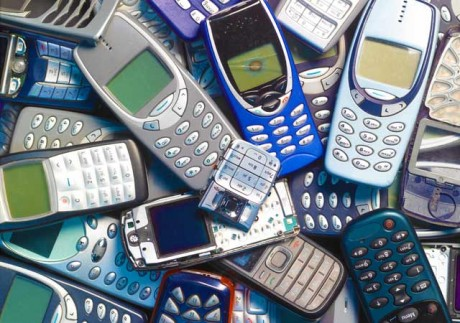 1,500 kg gold from discarded phones?