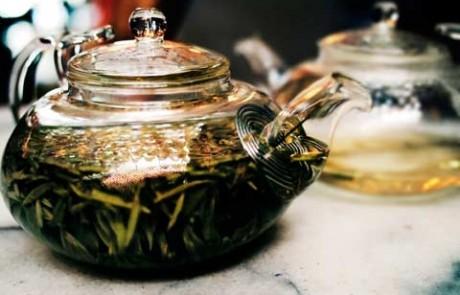 Longjing or Dragon Well tea