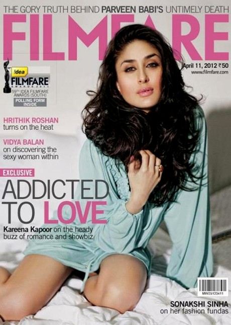 Sensual Kareena on magazine cover!