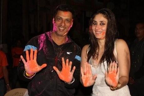 Madhur Bhandarkar and Kareena Kapoor
