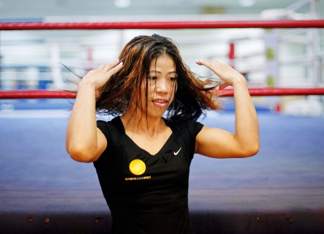 Eight Indians in Asian women boxing semis