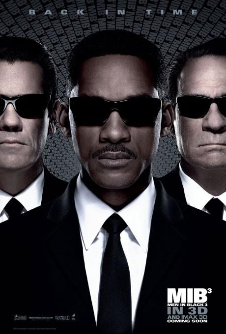 NEW POSTER: Men In Black 3 (3D)