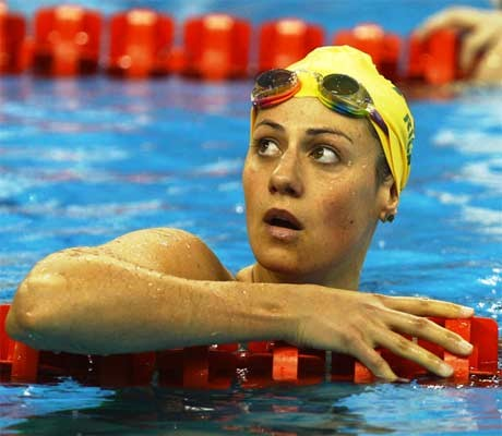 Shoulder a cause for concern for Stephanie Rice